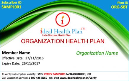 Organization Health Plan