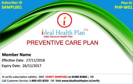 Preventive Care Plan